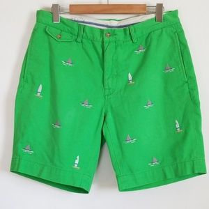 Polo Ralph Lauren Surf Shark Green Shorts